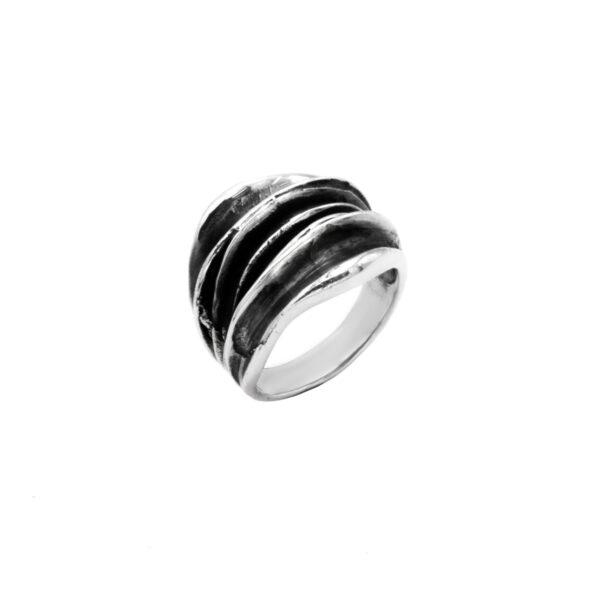 anillo ades en plata de ley 925