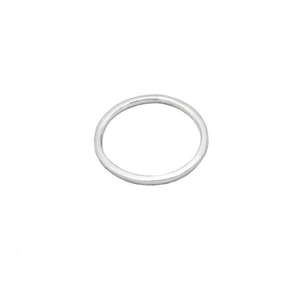 anillo fino en plata de ley 925