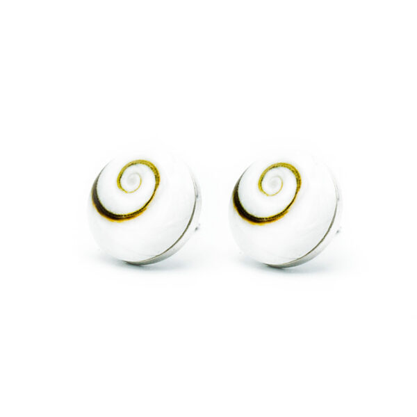 Pendente pegado ojo de Shiva | Pendientes plata mujer | Plata de Ley 925