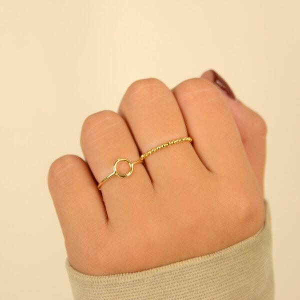 anillos en oro
