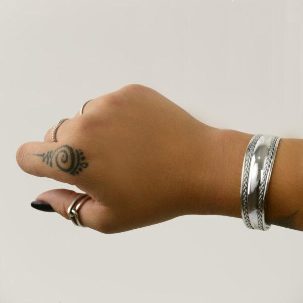 pulsera en plata de ley 925
