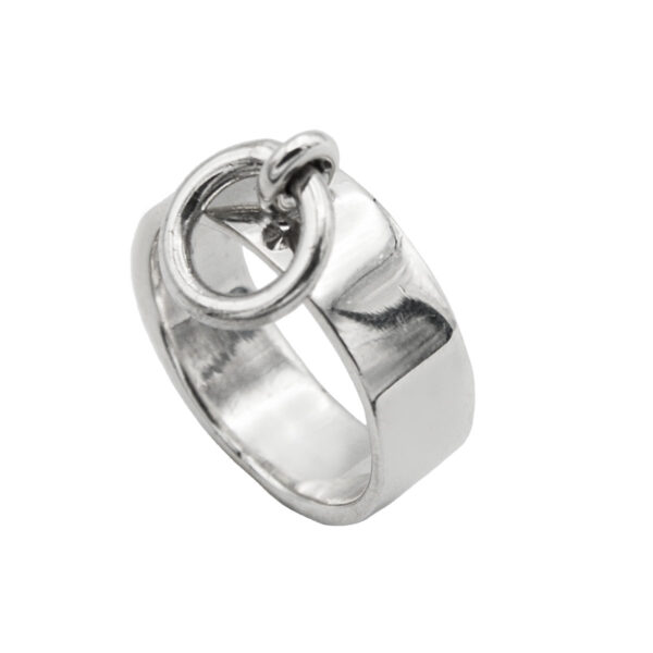Anillo anilla plata de ley 925