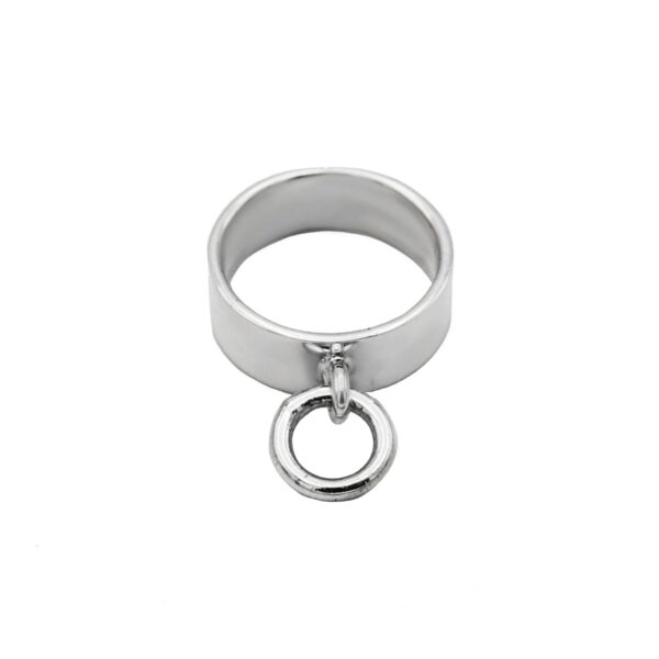 anillo hebilla en plata de ley 925