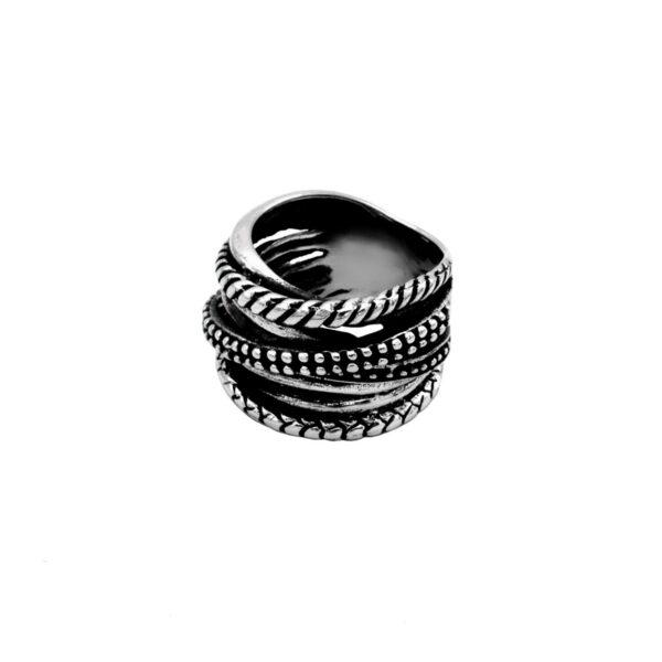 anillo argo en plata de ley