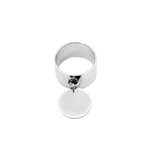 anillo en plata de ley