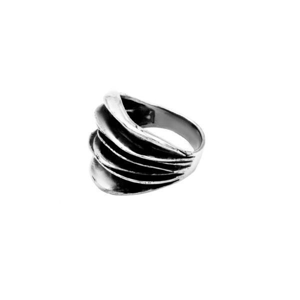 anillo hgades en plata de ley 925