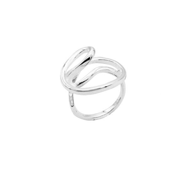 anillo labrys en plata de ley 925