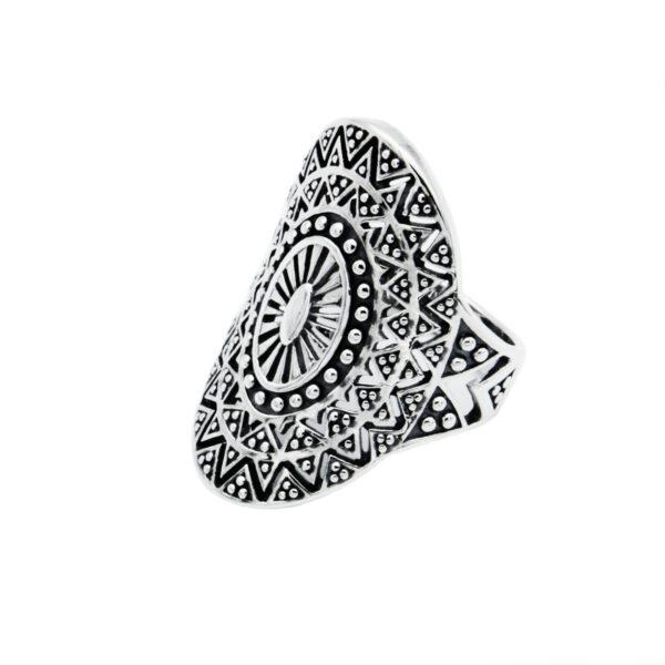 Anillo mandala plata de ley 925
