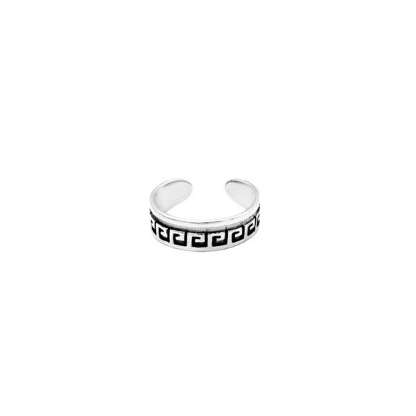 anillo midi inka plata de ley 925