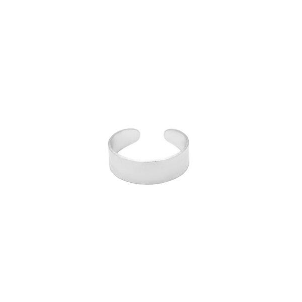 anillo midi plata de ley