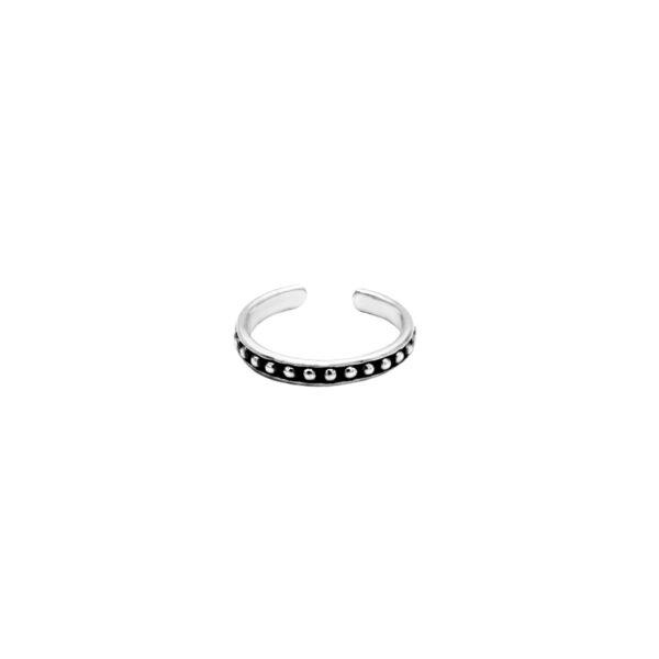 anillo midi plata de ley 925