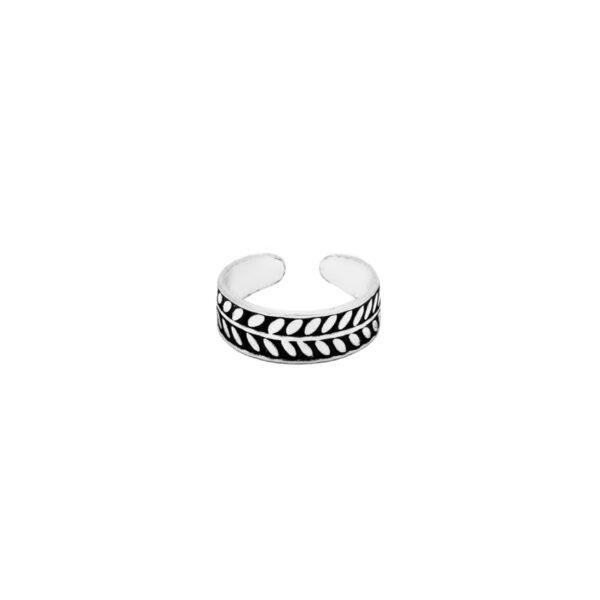 anillo midi rama en plata de ley 925