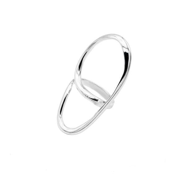 anillo nebris en plata de ley 925