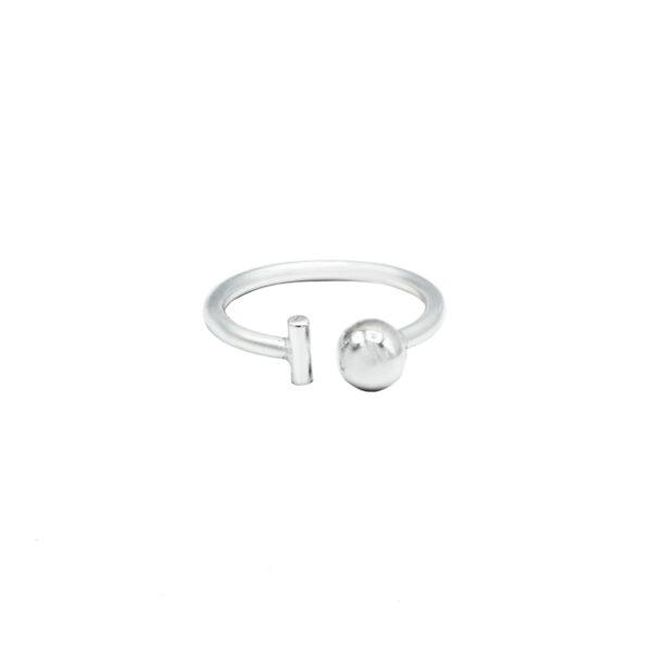 anillo pong en plata de ley 925