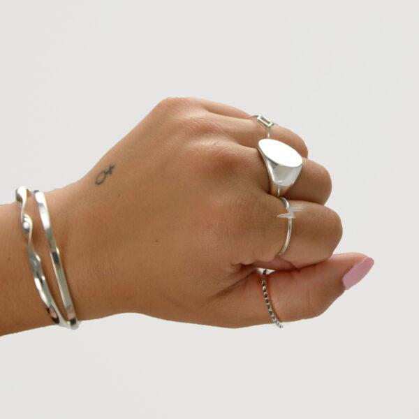anillo rayo