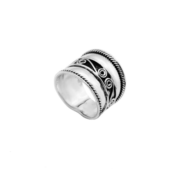 anillo siana en plata de ley 925