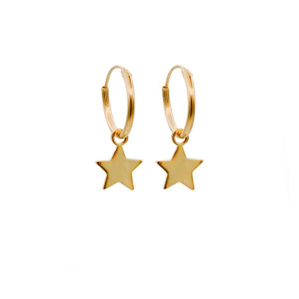 Aro Estrella en baño de oro