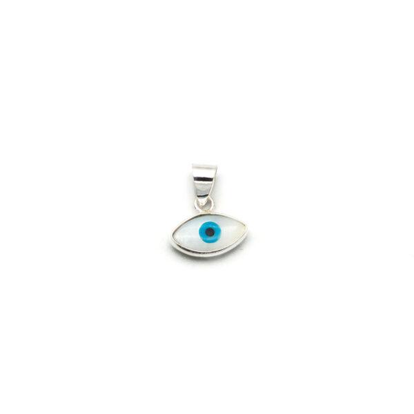 Colgante ojo turco plata de ley 925