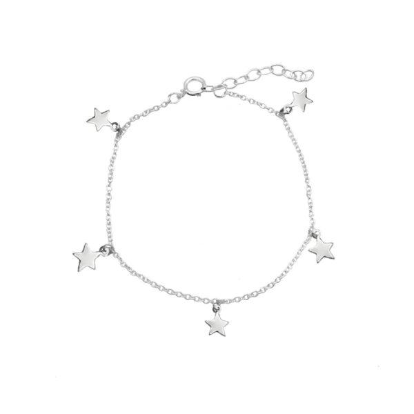 pulsera estrela en plata de ley 925